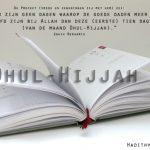 Tien dagen van Dhul-Hijjah