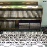 De beloning voor het leren van de Koran
